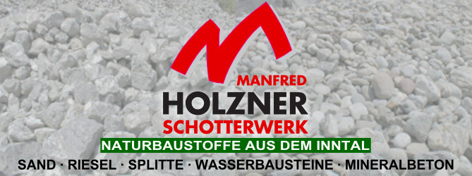 Logo Manfred Holzner GmbH & Co.KG Schotterwerk in Nußdorf am Inn